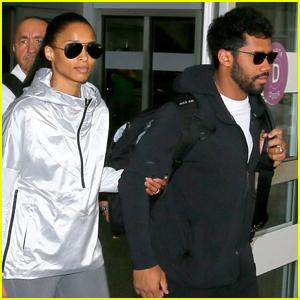Ciara & Russell Wilson Jet to Rio de Janeiro for Vacation!