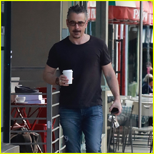 Colin Farrell Heads Out for a Coffee Run in Los Feliz