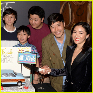 Constance Wu & 'Fresh Off the Boat' Cast Mates Celebrate 100th Episode!