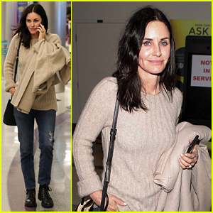 New Instagram User Courteney Cox Posts 'Gorgeous' Photo of Fiance Johnny McDaid