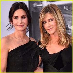 Courteney Cox Recalls Jennifer Aniston's Birthday Trip Emergency Landing