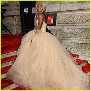 Cynthia Erivo Has a Princess Moment on BAFTAs Red Carpet!