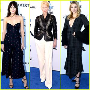 Dakota Johnson & 'Suspiria' Stars Step Out for Spirit Awards 2019!