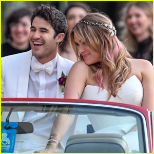 Darren Criss & Mia Swier Are Married - See Their Wedding Photos!
