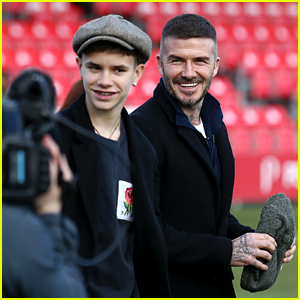 David Beckham Attends Salford City Soccer Game as Team's New Co-Owner