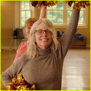 Diane Keaton Brings Cheerleading to Retirement Village in 'Poms' Trailer - Watch Here!