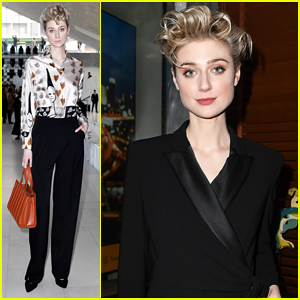 Elizabeth Debicki Honored with Max Mara's Face of the Future Award!