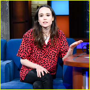 Ellen Page Tearfully Calls Out Trump Administration During 'Colbert' Appearance - Watch Now