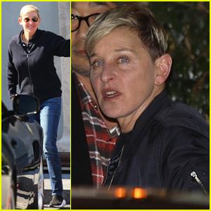 Ellen DeGeneres Steps Out for Jennifer Aniston's Birthday Party!