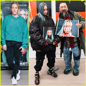 Ellie Goulding Helps 'Garage' Mag Celebrate Billie Eilish & Takashi Murakami Collab!