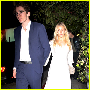 Ellie Goulding & Fiance Caspar Jopling Spend a Romantic Night Out on Valentine's Day
