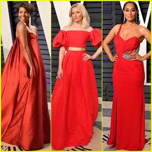 Gabrielle Union, Elizabeth Banks, & Tracee Ellis Ross Stun at Vanity Fair's Oscars 2019 Party!