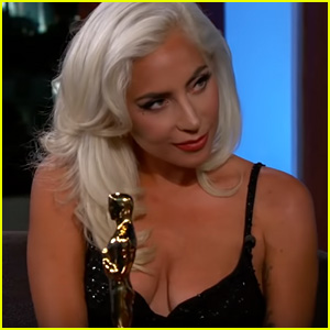 Lady Gaga Opens Up About Oscar Win & Being 'In Love' With Bradley Cooper - Watch!