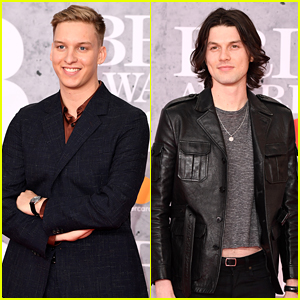 George Ezra & James Bay Attend the BRIT Awards 2019