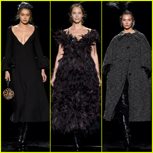 Gigi Hadid, Christy Turlington, & Karlie Kloss Walk in Marc Jacobs NYFW Show