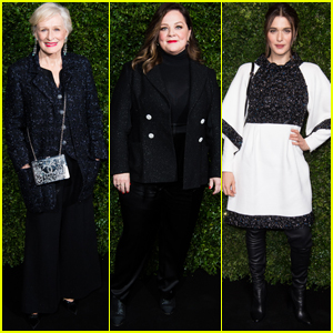 Glenn Close Joins Melissa McCarthy & Rachel Weisz at Chanel's Pre-BAFTA Dinner