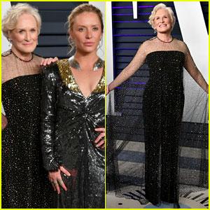 Glenn Close & Daughter Annie Starke Hit the Vanity Fair Oscars 2019 Party!