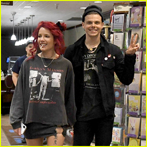 Halsey & Yungblud Pack on the PDA at Beverly Hills Pharmacy