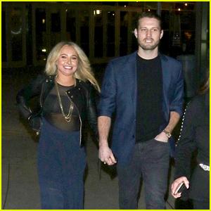 Hayden Panettiere & Boyfriend Brian Hickerson Enjoy a Movie Date Night in Hollywood