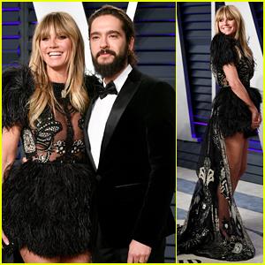 Heidi Klum Switches It Up with Tom Kaulitz at Vanity Fair Oscar Party 2019!