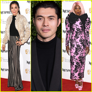 Henry Golding, Michelle Yeoh, & Cynthia Erivo Step Out for Pre-BAFTA Parties
