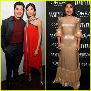 Henry Golding & Yalitza Aparicio Host Vanity Fair Party Ahead of the Oscars!