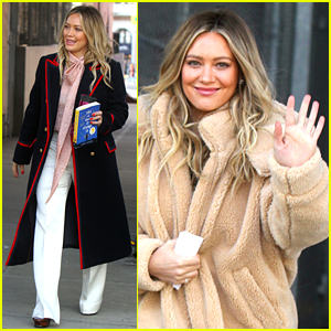 Hilary Duff Films Scenes for 'Younger' Season 6 in New York City