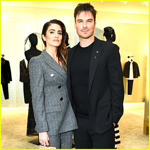 Ian Somerhalder & Nikki Reed Are Picture Perfect at Giorgio Armani's Pre-Oscars Party!