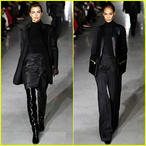Irina Shayk & Joan Smalls Hit The Runway at Max Mara Milan Fashion Show!