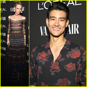 Jaime King, Alex Landi & More Step Out for Vanity Fair's Pre-Oscar Party!