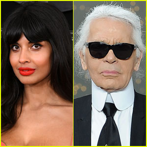 Good Place's Jameela Jamil Calls Out Karl Lagerfeld as a 'Ruthless, Fat-Phobic Misogynist'