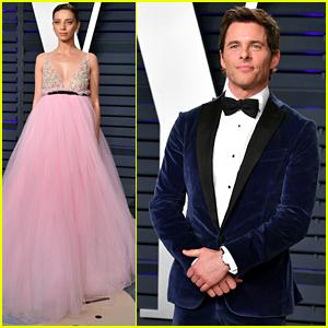James Marsden & Angela Sarafyan Bring 'Westworld' to Vanity Fair's Oscars 2019 Party
