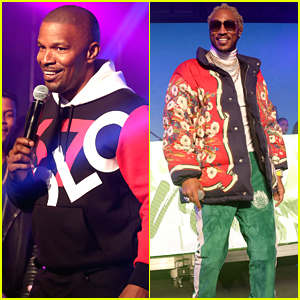 Jamie Foxx & Future Hit the Stage at Maxim's Big Game Experience During Super Bowl Weekend