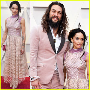 Jason Momoa & Lisa Bonet Are Picture Perfect at Oscars 2019