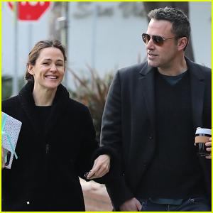 Jennifer Garner & Ben Affleck Meet Up for Coffee in Santa Monica!