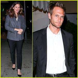 Jennifer Garner Enjoys a Date Night with Boyfriend John Miller