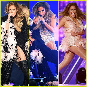 Jennifer Lopez Makes Three Outfit Changes During Grammys 2019 Performance!