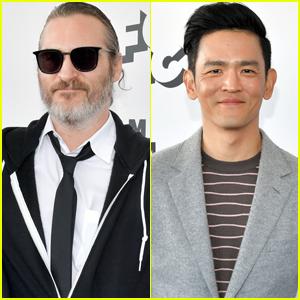 Joaquin Phoenix & John Cho Arrive at Spirit Awards 2019
