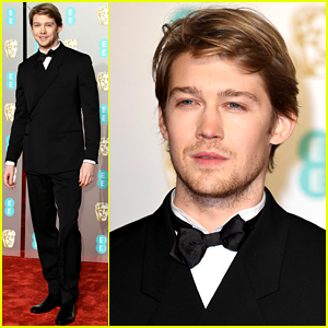 The Favourite's Joe Alwyn Goes Solo at BAFTAs 2019