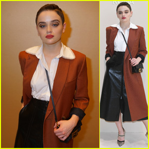 Joey King Is Effortlessly Chic at Fendi Show During Milan Fashion Week 2019