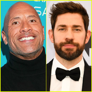 The Rock Just Jokingly Called Out John Krasinski for Calling Him 'Dave'