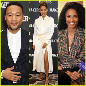 John Legend, Jada Pinkett Smith, & Ciara Share Powerful Words at Makers Conference 2019