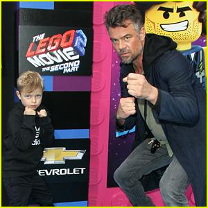 Josh Duhamel Takes His Son Axl to 'Lego Movie 2′ Premiere