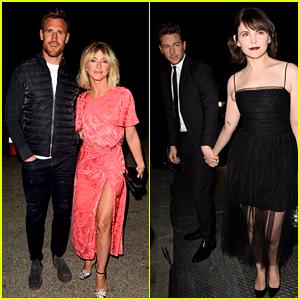Julianne Hough & Ginnifer Goodwin Enjoy Date Nights at WME Pre-Oscar Party