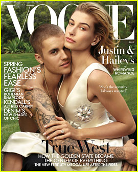 Justin & Hailey Bieber Cover 'Vogue,' Discuss Their Marriage: 'It's Always Going to Be Hard'