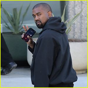Kanye West Hits the Office Ahead of New York Fashion Week 2019