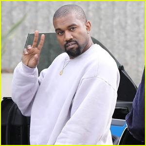 Kanye West Heads to Work After Surprising Kim Kardashian on Valentine's Day!