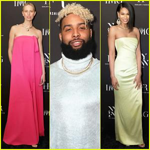 Karolina Kurkova, Odell Beckham Jr. & More Support IMG x Harlem's Fashion Row: Next Of Kin!