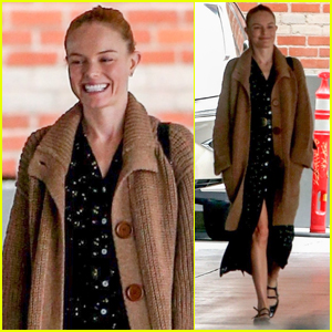 Kate Bosworth Goes Makeup-Free While Shopping in Beverly Hills