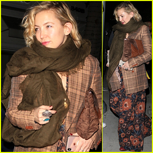 Kate Hudson Heads Out After Dinner at Mr. Chow in Beverly Hills